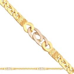 Łańcuszek złoty model-Lm007