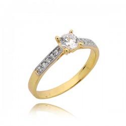 Minimalistyczny pierścionek ze złota