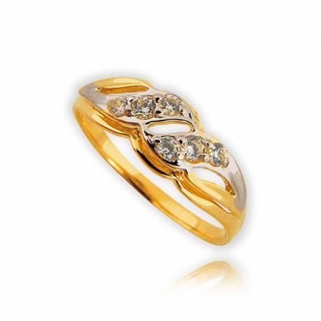 Pieścionek złoty P1507