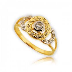 Pieścionek złoty P1509
