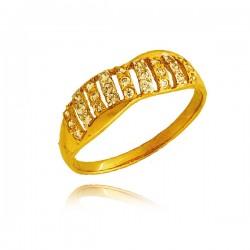 Złoty damski pierścionek P1449