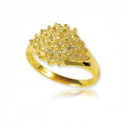Złoty damski pierścionek P1450