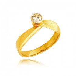 Pierścionek złoty P1373