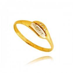 Pierścionek złoty P1367