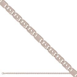 Łańcuszek z białego złota -Lp092c
