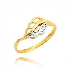 Pierścionek zaręczynowy z cyrkoniami