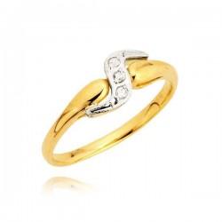 Lekki pierścionek idealny na prezent