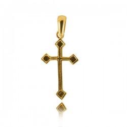 Wisiorek,złoty krzyżyk KR1