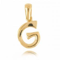 Wisiorek,złota literka G