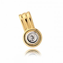 Złoty wisiorek N64W