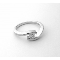 Złoty pierścionek klasyczny