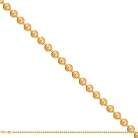 Łańcuszek złoty model-49896