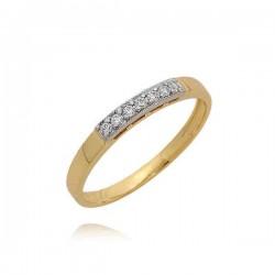 Śliczny skromny pierścionek