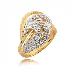 Niesamowity pierścionek z cyrkoniami