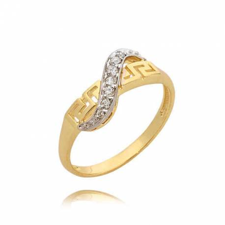 Idealny pierścionek na prezent z cyrkoniami