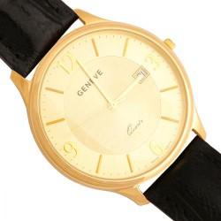 Złoty zegarek,męski model -Zv126-cz