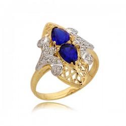 Złoty pierścionek N298