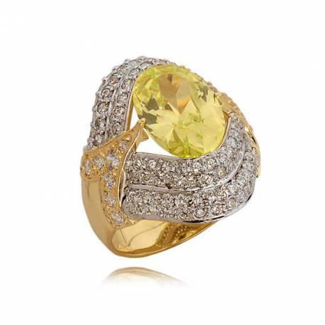 Bogato zdobiony pierścionek N302