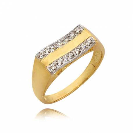 Pierścionek złoty N309
