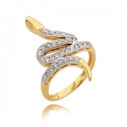 Złoty pierścionek N318
