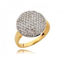 Złoty pierścionek N328