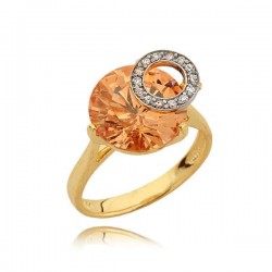 Złoty pierścionek N332