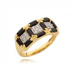 Pierścionek złoty N336