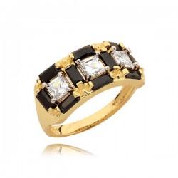 Złoty pierścionek N337