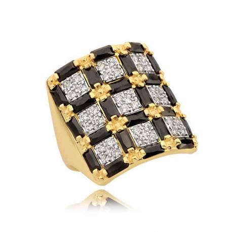 Złoty pierścionek N338