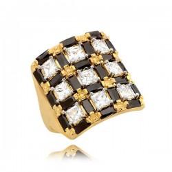 Złoty pierścionek N339