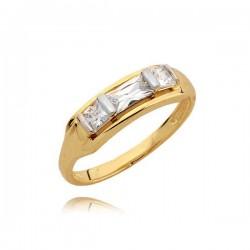 Złoty pierścionek N342