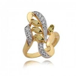 Złoty pierścionek N353