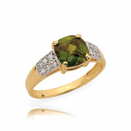 Złoty pierścionek N360