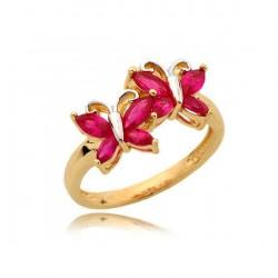 Złoty pierścionek N361