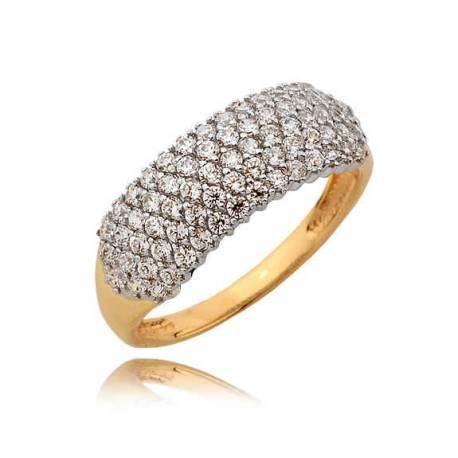 Złoty pierścionek N367