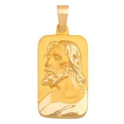 Złoty medalik,krzyżyk wzór-31476