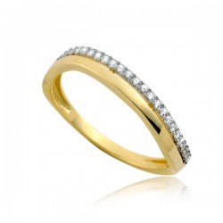 Drobny damski pierścionek P1893