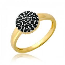 NIebotyczny pierścionek damski P1896