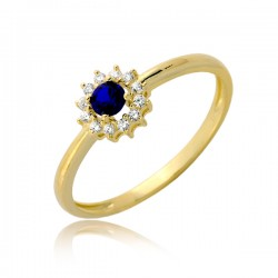 Niewielki kobiecy pierścionek P1905