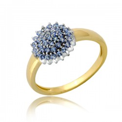 Kwitnący damski pierścionek P1906