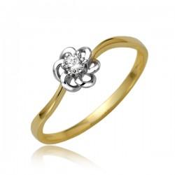 Drobny damski pierścionek P1878