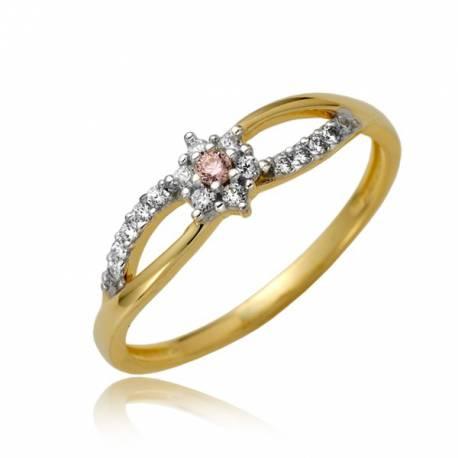 Śliczny damski pierścionek P1873