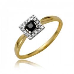 Złoty pierścionek P1872