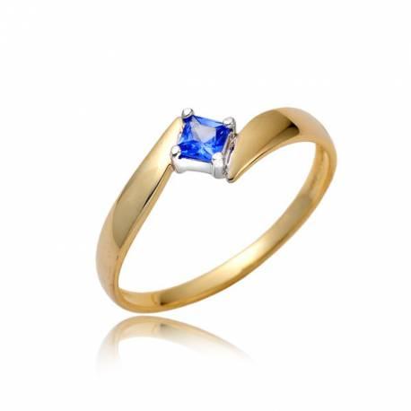 Złoty pierścionek damski P1850
