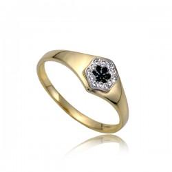 Złoty pierścionek P1846