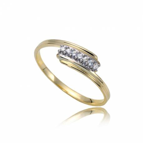 Urzekający pierścionek damski P1833