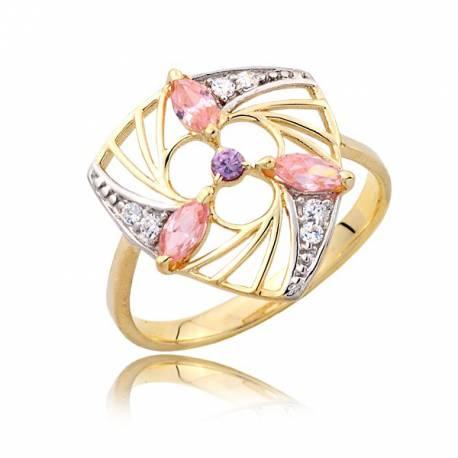 Zjawizkowy złoty pierścionek P1820