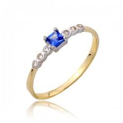 Złoty pierścionek P1807
