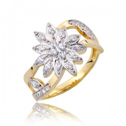 Połyskujący damski pierścionek P1794