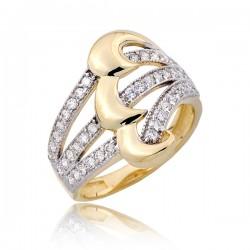 Wyrazisty damski pierścionek P1793